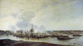 Гангутская битва, А. Боголюбов.