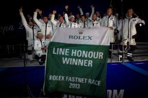 Взять Line Honour в Rolex Fastnet Race - большое достижение!