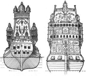 Корабли Ла Куронн и Royal Sovereign
