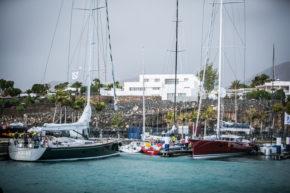 Яхтенная стоянка участников  RORC Transatlantic на Канарских островах.