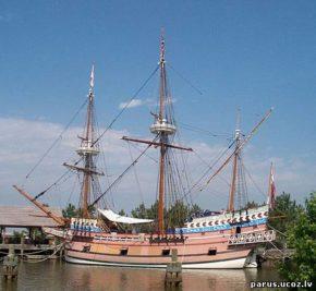 Корабль Susan Constant