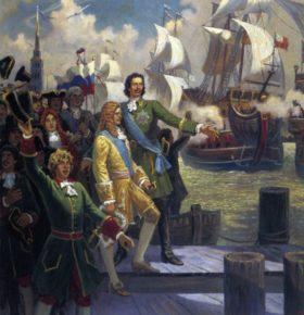 Рождение Российского флота