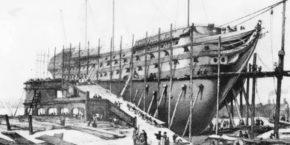 Строительство линкора Полтава
