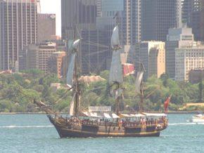 Корабль Bounty