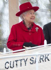 Елизавета 2 открывает Cutty Sark