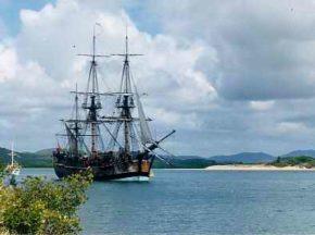 Первый корабль Джеймса Кука