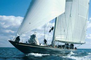 Shamrock V - одна из самых известных представителей яхт J-class
