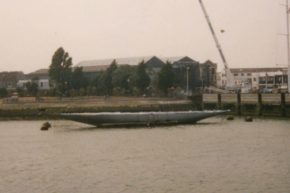 Так жалко выглядела яхта Velsheda в 1996 году