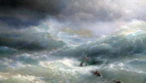 Картина Айвазовского Волна, 1889 год