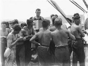 Немецкая команда на борту Магдалены 1933