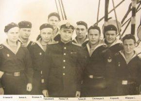 Капитан Лемеш и курсанты, Седов 1956