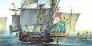 Картина корабля Орел
