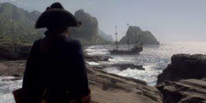 Фото пиратского корабля Месть королевы Анны, капитана Эдварда Тича