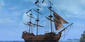 Фото корабля Месть королевы Анны