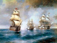 Бриг Меркурий — славная победа одного корабля российского флота
