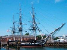 История спасения корабля Old Ironsides (Constitution)
