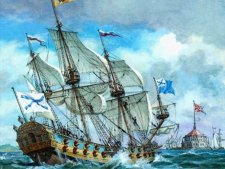 «Полтава» первый линейный корабль Балтийского флота