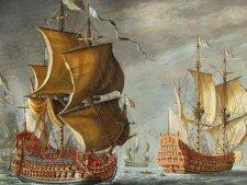 Французский корабль «Солей Роаяль» символ своего монарха